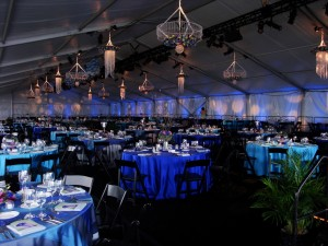 Event Tent DW Gala 2009